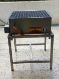 Piètement pour générateur de flammes
